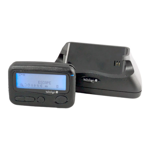 ALPHA Pager V27 Met Oplaadstation Charger