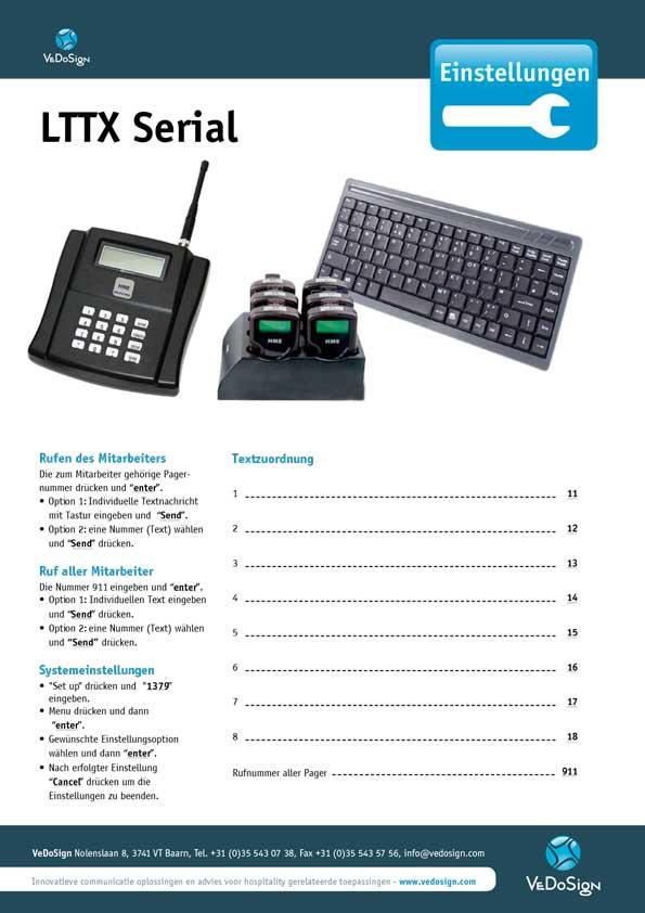 Anleitung LTTX Serial
