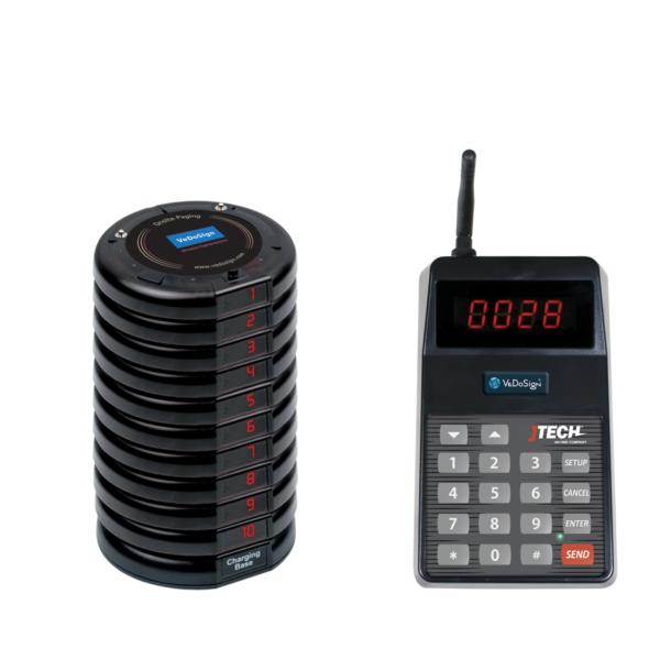 Basic Gasten Oproepsysteem Compleet Met 10 Coasters