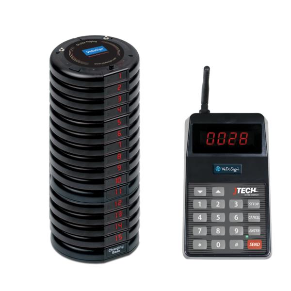 Basic Gasten Oproepsysteem Compleet Met 15 Coasters