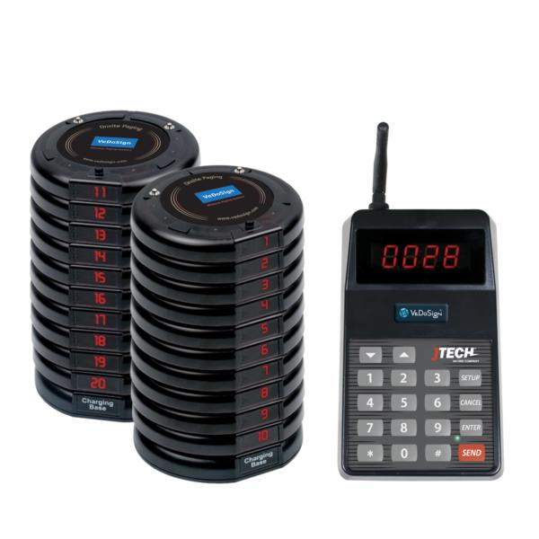 Basic Gasten Oproepsysteem Compleet Met 20 Coasters