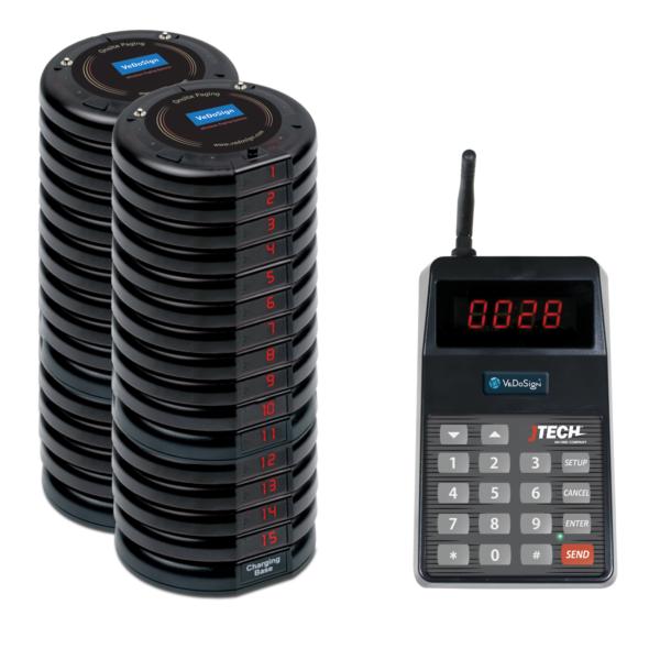 Basic Gasten Oproepsysteem Compleet Met 30 Coasters
