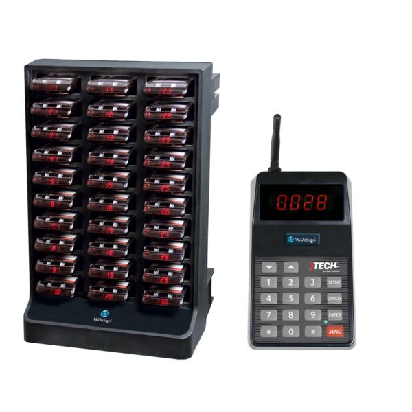 Basic Systeem Gasten Oproepsysteem Compleet Met 30 IQ Pagers