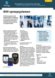 Brochure BHV Oproepsysteem
