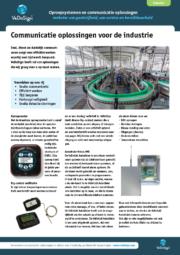 Brochure Industrie Oplossingen