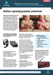 Brochure Kelner Oproepsysteem Premium