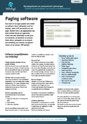 Brochure Paging Software VeDoSign