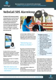 Brochure VeDoCall SOS Alarmknop