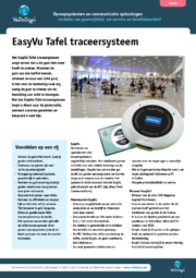 Brochure Tafel Traceersysteem EasyVu