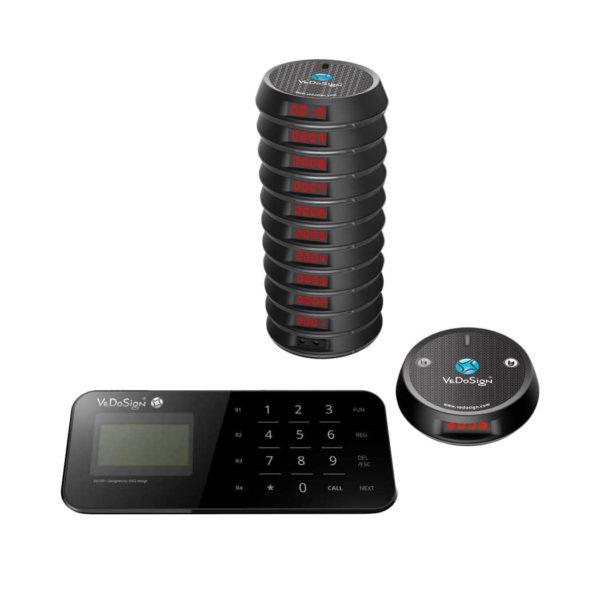 Budget Gasten Oproepsysteem Compleet 10 Coasters
