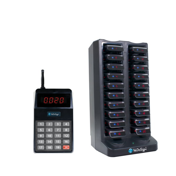 Compleet Touch&Go20B Commpass Systeem 20 Pagers