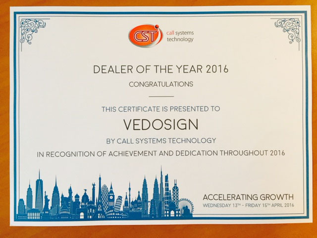 Dealer Of The Year CST
