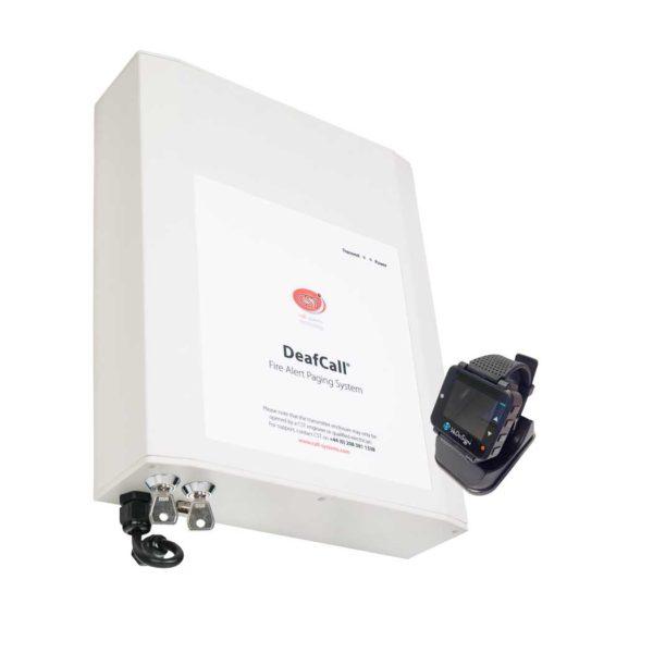 Doven Brandalarmering Oproepsysteem Hub En Alpha Horloge Pager