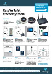 Installatie Handleiding EasyVU Tafeltraceersysteem
