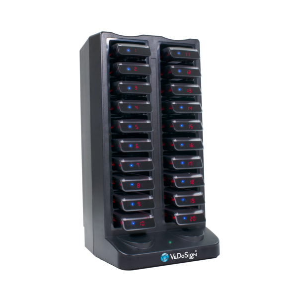 Oplaadstation Commpass Systeem Voor 20 CommPass Pagers