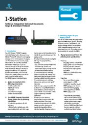 Manual I Station Software Integration GB