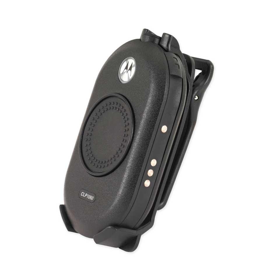 Motorola CLP446 Portofoon Schuin