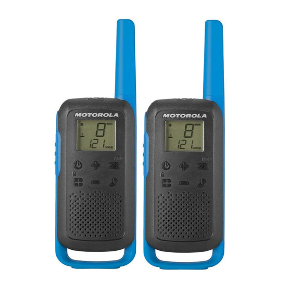 Motorola T62 Blue-Twin-set-van-2-portofoons set portofoons