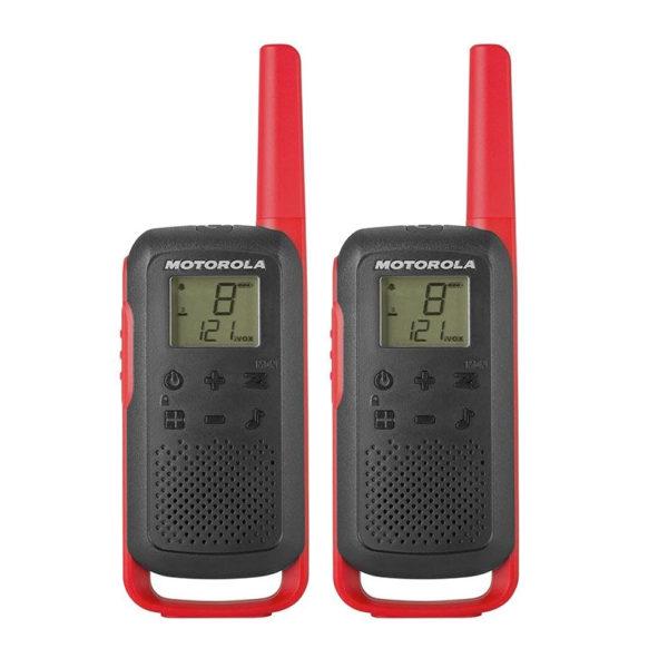 Motorola T62 Red Twin set 2 portofoons