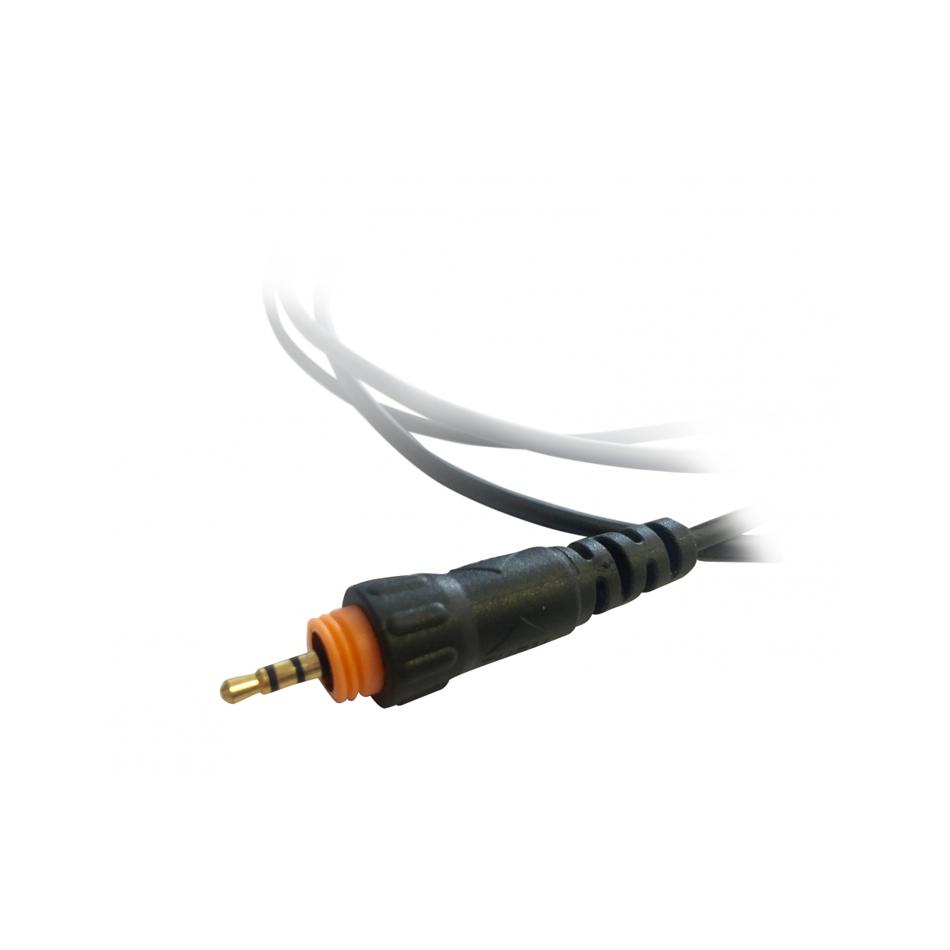 Oortje Motorola CLP446 Portofoon Detail Aansluiting