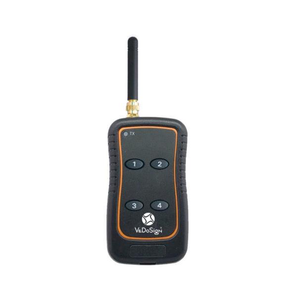 Portable 4 Knops Transmitter