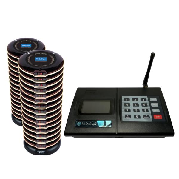 Premium Gasten Oproepsysteem Met 30 (2x15) Coasters Premium
