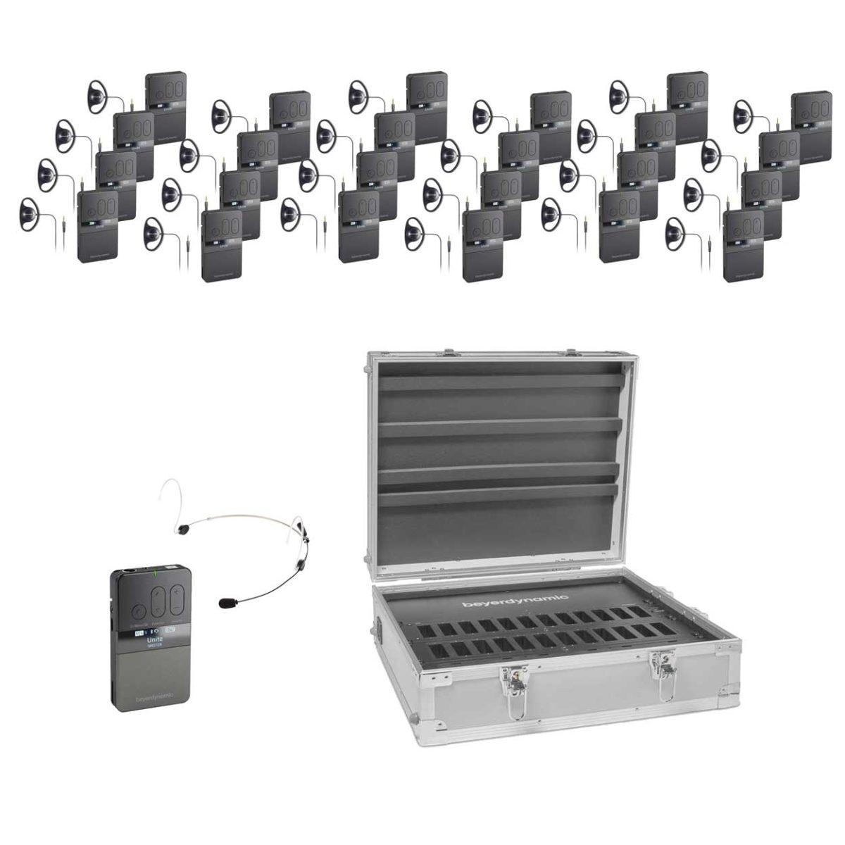 Rondleidingsysteem Guide VDS 700 BD Met 24 Ontvangers Geheel