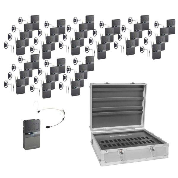 Rondleidingsysteem Guide VDS 700 BD Met 36 Ontvangers Geheel