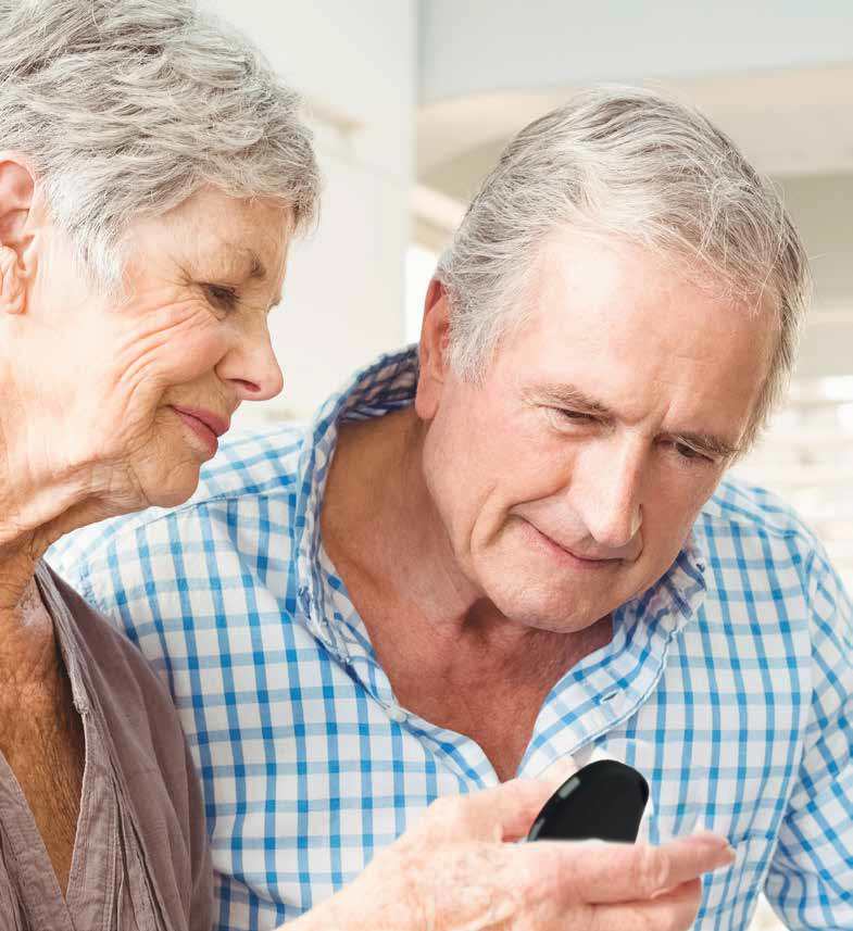 SOS Ouderen Senioren Noodknop