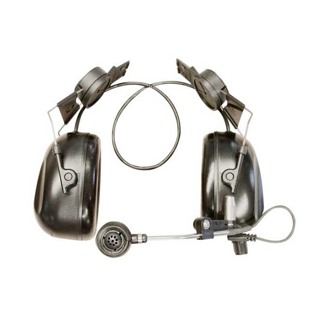 SWATCOM 2talk Headset Met Helm Bevestiging Zwart Zonder Helm