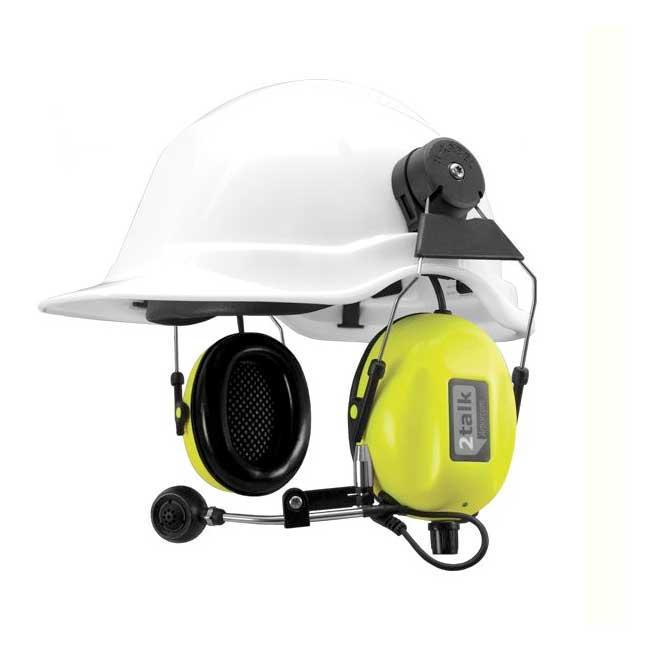 SWATCOM 2talk Headset Met Helm Bevestiging