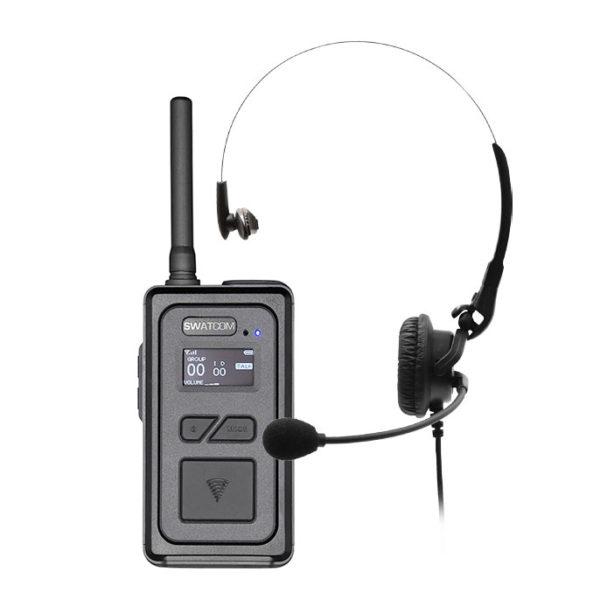 SWATCOM Multicom V2 Handset Headset 1