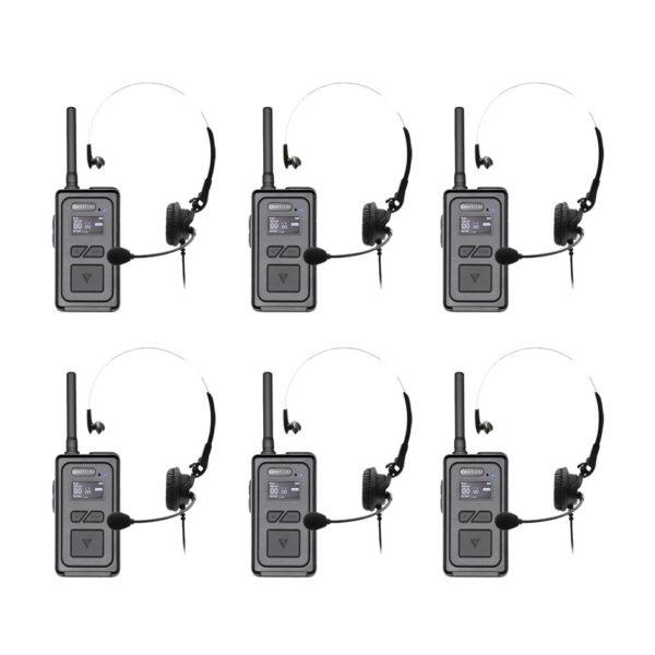 SWATCOM Multicom V2 Handset Headset 6