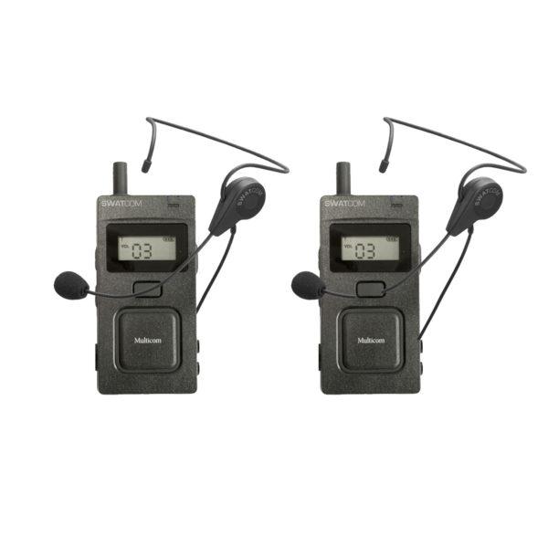 SWATCOM Multicom Handset En Headset 2