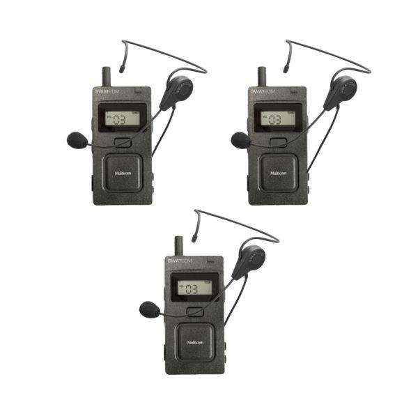 SWATCOM Multicom Handset En Headset 3