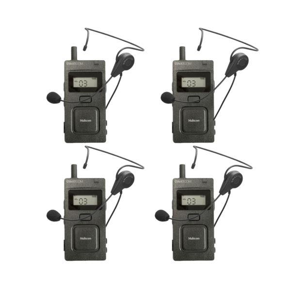 SWATCOM Multicom Handset En Headset 4