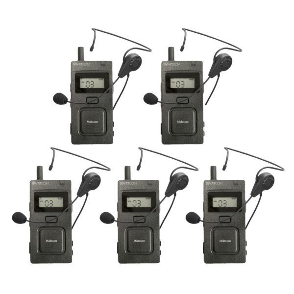 SWATCOM Multicom Handset En Headset 5