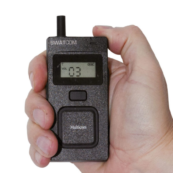 SWATCOM Multicom Handset Gebruiksvriendelijk