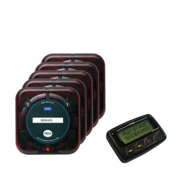 Service-oproepsysteem-algemeen-pager-5-knoppen