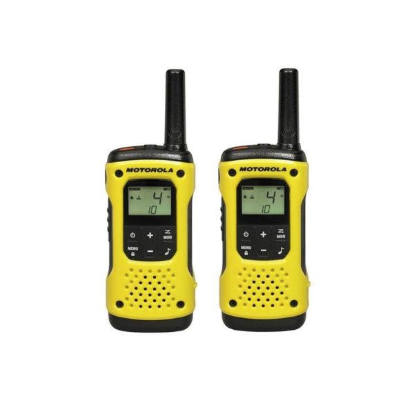 Set Met 2 Motorola TLKR T92 Portofoons (IP67)