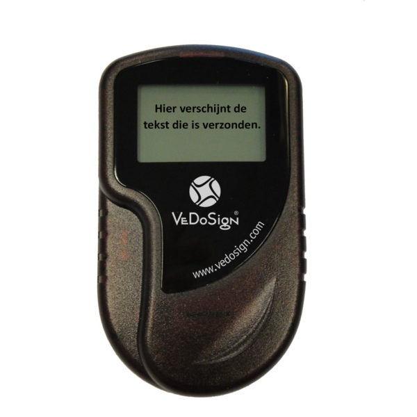 SmartCall Pager buzzer Tekst VeDoSign