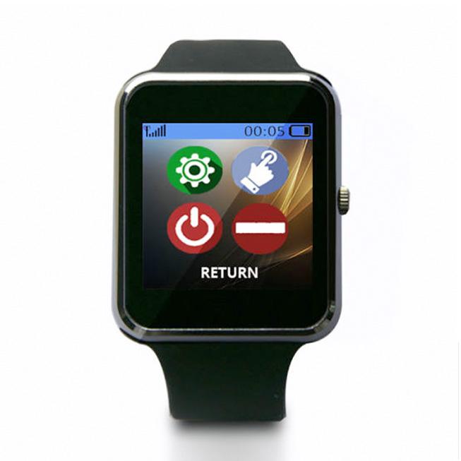 Smartwatch POCSAG Pager Horloge Colour Apha Pager Hoofdmenu