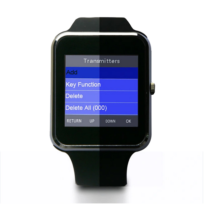 Smartwatch POCSAG Pager Horloge Colour Apha Pager Menu