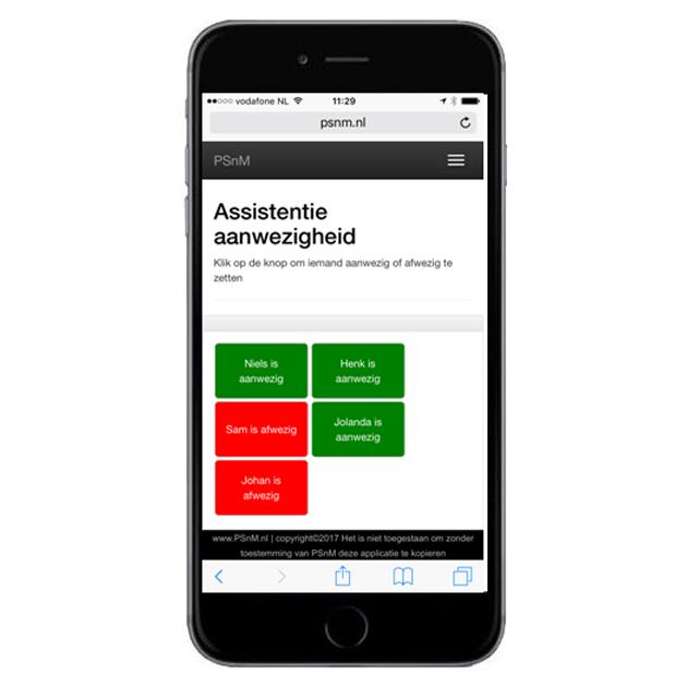 Software Assistentie Module Iphone Knoppen