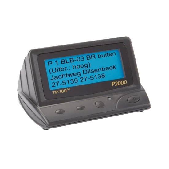 TP 100 Pro P2000 Desktop Pager