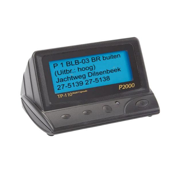 TP 110 P2000 Multicapcode Desktop Pager