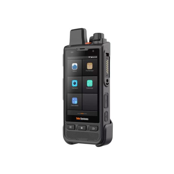 TeloPTT TE590 4G Portofoon Schuin
