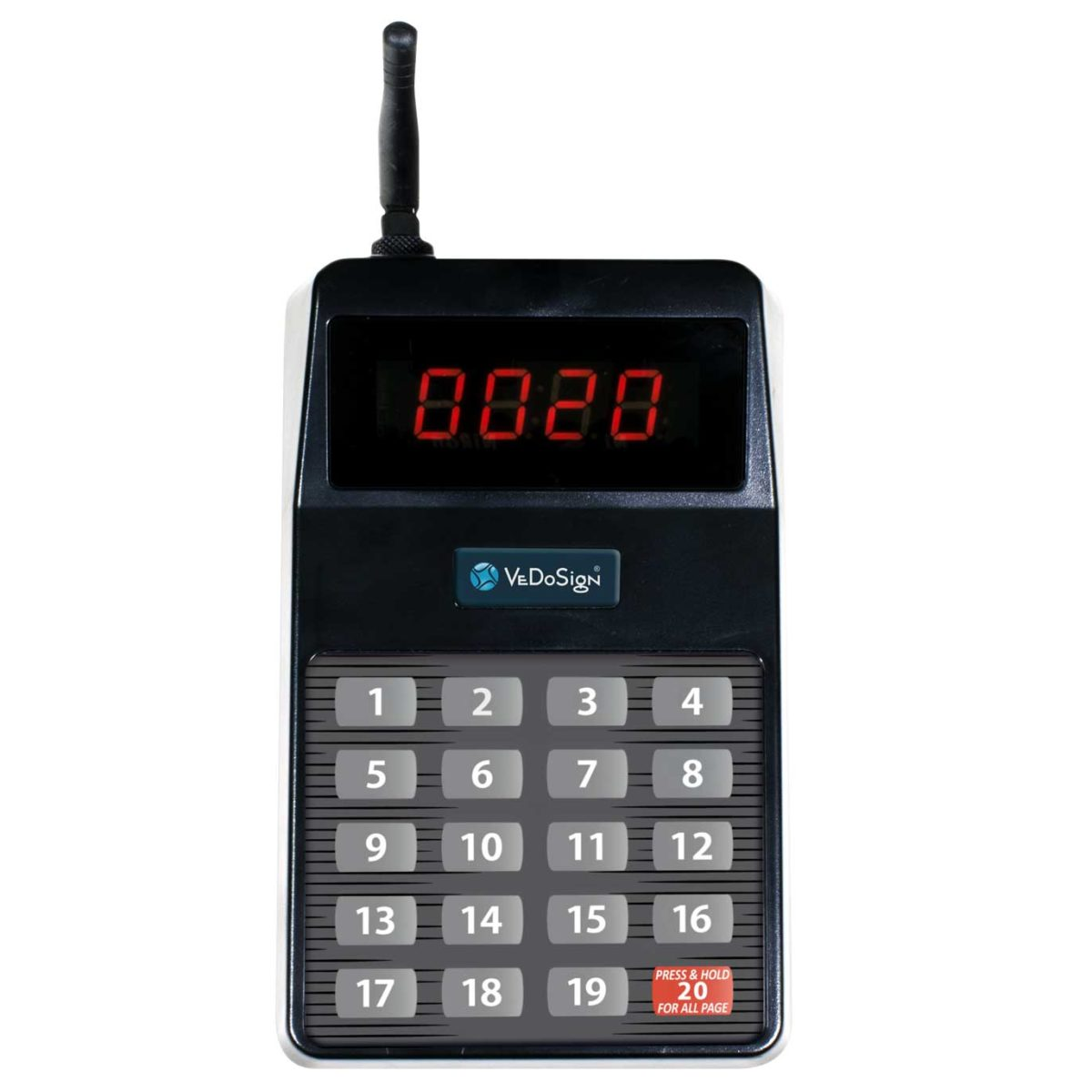 Transmitter Touch&Go20B Voor