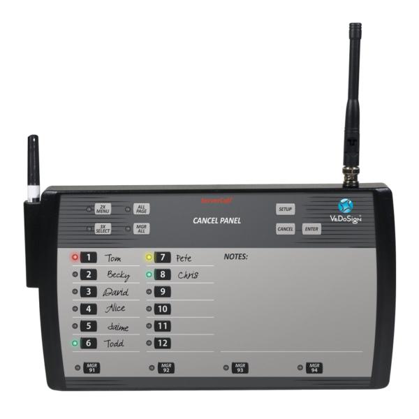 Transmitter WhiteBoard 12 Posities VeDoSign